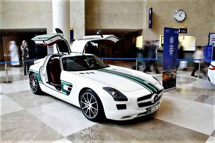 Mercedes Amg Sls Dubai Police Car